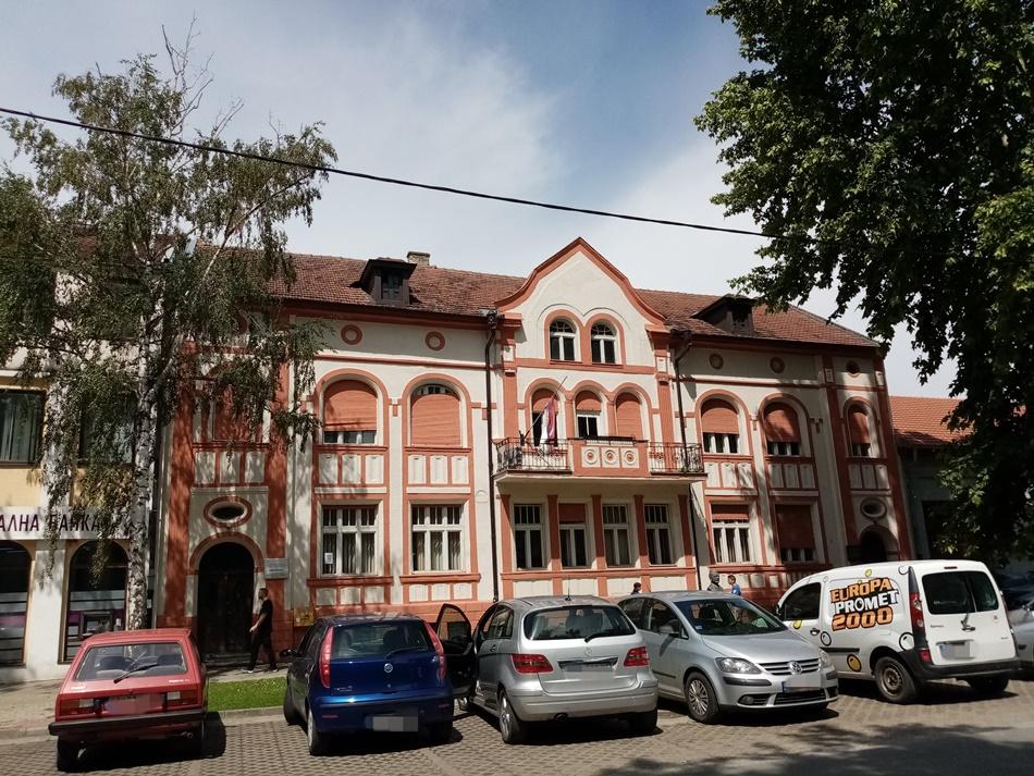 """Narodna biblioteka """"Veljko Petrović"""" u Bačkoj Palanci"""