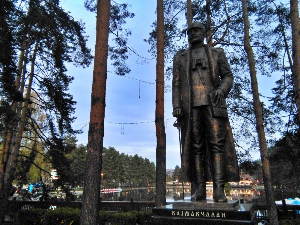 Spomenik Krsti Smiljaniću na Zlatiboru