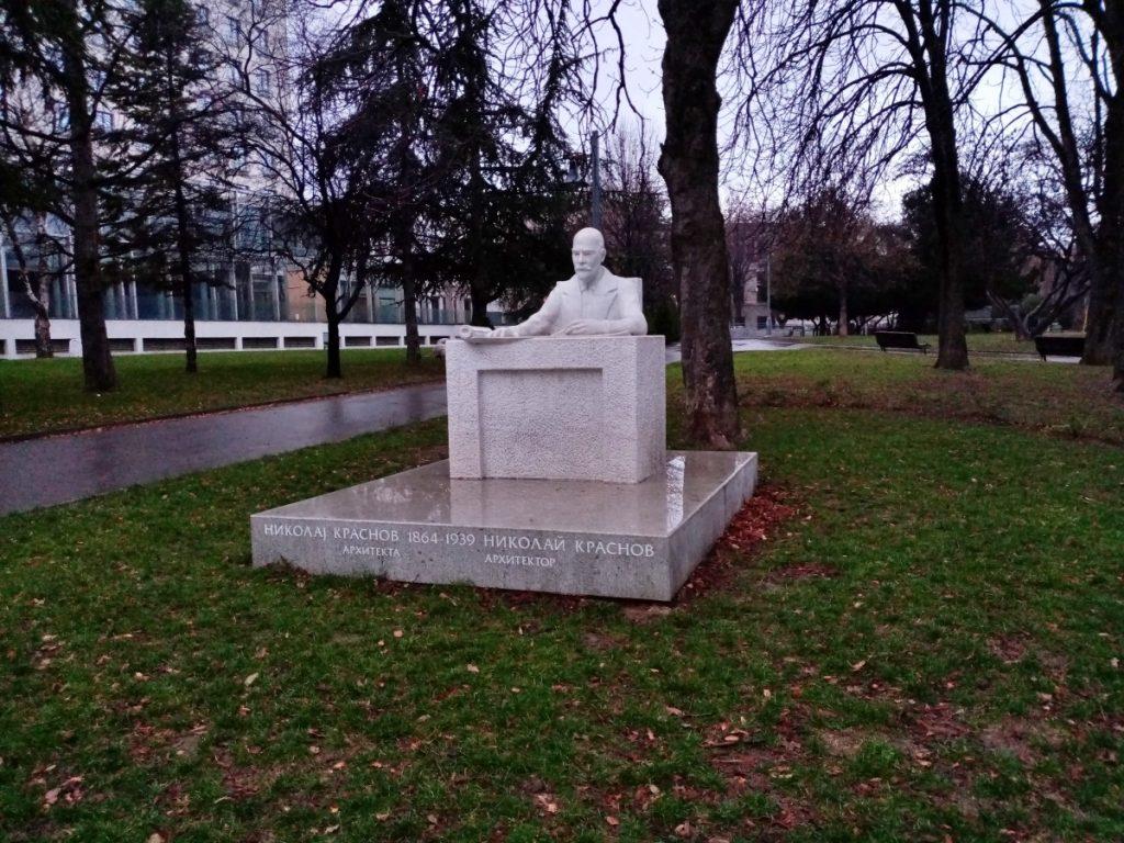 Spomenik Nikolaju Krasnovu u Beogradu